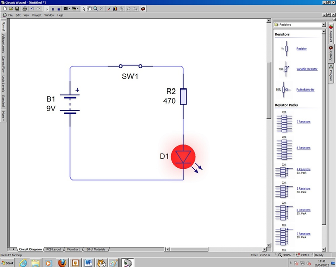 s5 use software for circuit simulation rh benjenkins weebly com RGB LED Wiring LED Light Bar Wiring Diagram